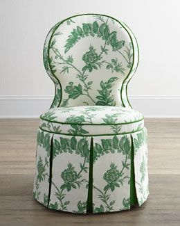 looking for something just like this (but with different upholstery) for my vanity in the master!