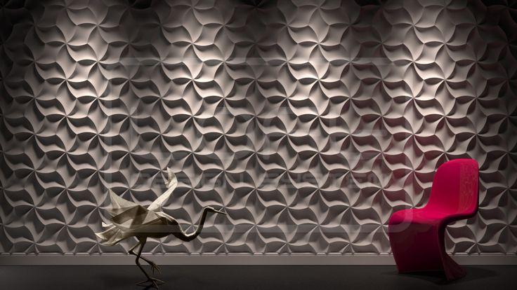 Decorative Panels 3D Meringue - Model 29
