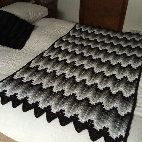 Mary's Crochet Afghan From The Show Breaking Amish