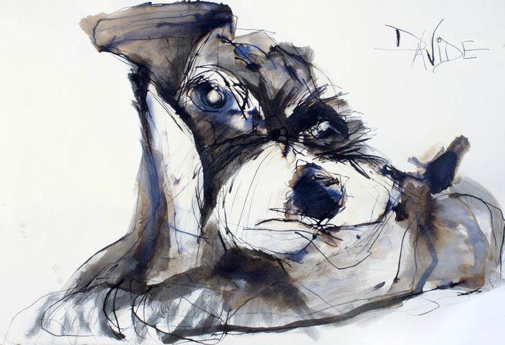 Valerie Davide dog Frobisher-posing
