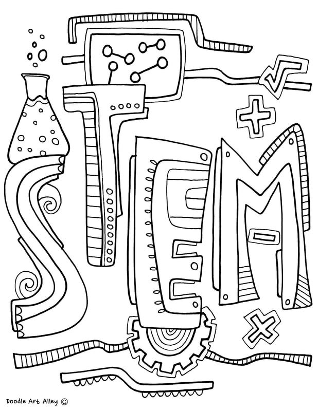 Subject Cover Pages Coloring Pages Classroom Doodles School
