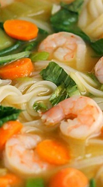 Date Asian noodles with shrimp recommend accepting