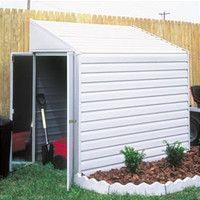 Yardsaver 4 Ft. W x 10 Ft. D Steel Storage Shed