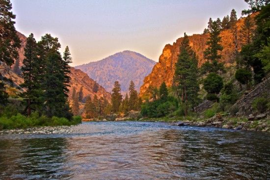 Middle Fork of the Salmon River with Wilderness River Outfitters!