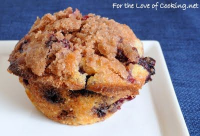 Blueberry Coffee Cake Muffins... I like blueberries and I like coffee cake. This can only be wonderful.