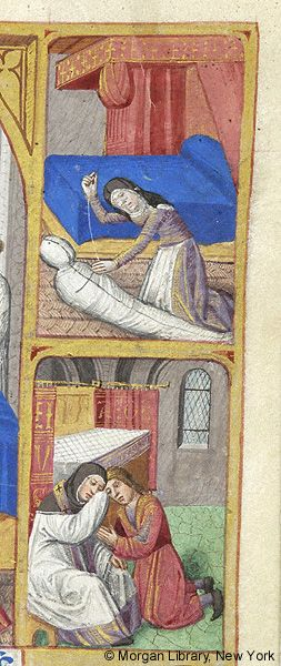 Book of Hours, MS M.231 fol. 137r - Images from Medieval and Renaissance Manuscripts - The Morgan Library & Museum