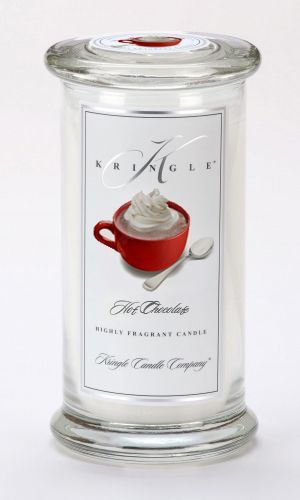 CLOSEOUT - Hot Chocolate Large Apothecary Jar Kringle Candle $22.46