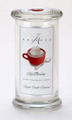 CLOSEOUT - Hot Chocolate Large Apothecary Jar Kringle Candle $22.46
