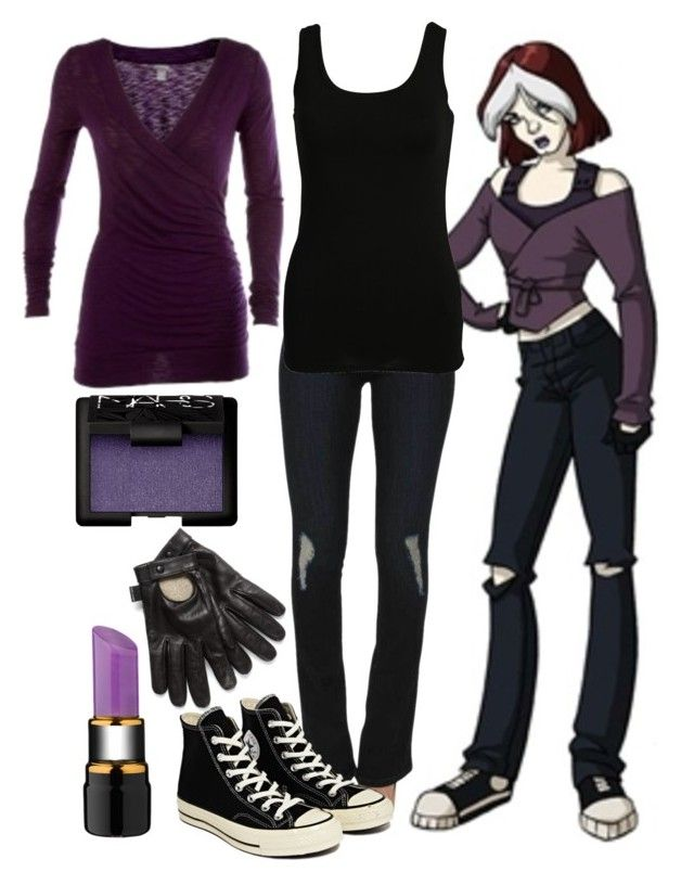 """Rogue • Xmen Evolution"" by marvelteen ❤ liked on Polyvore"