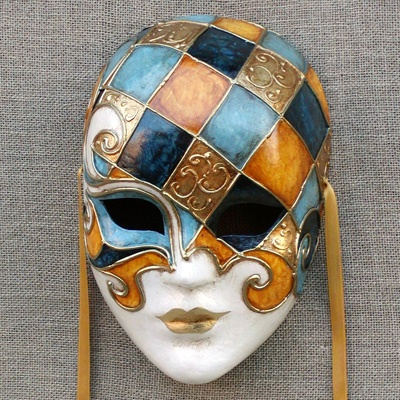 Volto mask by Ca' Macana. Venice, Italy.