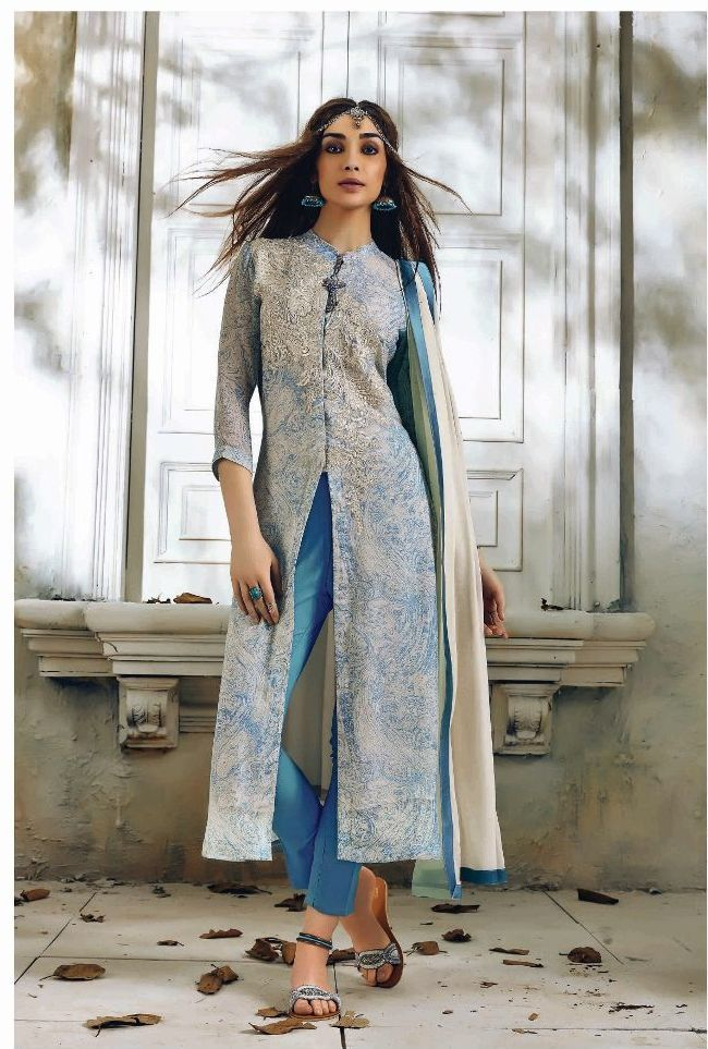 Sahiba aafreen Georgette collections  7 pc catalog