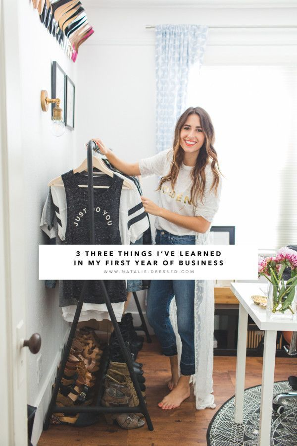 3 Things I've Learned from My First Year of Business | Natalie Dressed