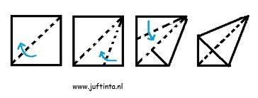 Afbeeldingsresultaat voor vlieger vouwen