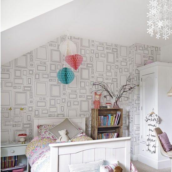 Best 25+ Girls Bedroom Wallpaper Ideas On Pinterest