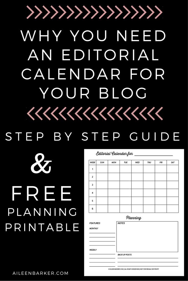 In my over 5 years of blogging, it wasn't until the last couple of years  that I started using an editorial calendar. It is seriously life changing.  That might be taking it too far, but what I'm saying is you need to have an  editorial calendar if you're going to have a blog. There are tons of  reasons why and I'm going to outline them below.  Why do you need a blog editorial calendar?Brainstorm Power  What I like to do is spend a few hours brainstorming and then laying  everything out on…