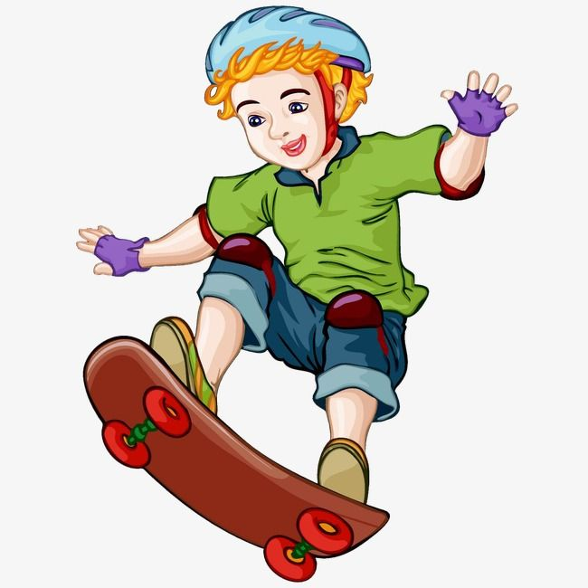 Skateboard Boy Skateboard Boy Boy Character Cartoon People