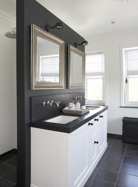 25 beste idee n over wastafelmeubel op pinterest badkamer ijdelheden badkamer kasten en - Scheiding kamer panel ...