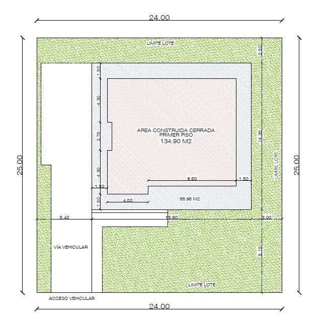 Diseño casa campestre el Alero Colonial, Planos Arquitectónicos, estilo colonial con aleros perimetrales, proyecto en 3D, venta de planos en linea