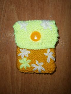 Lia B. Creations: Woollen pouch 019