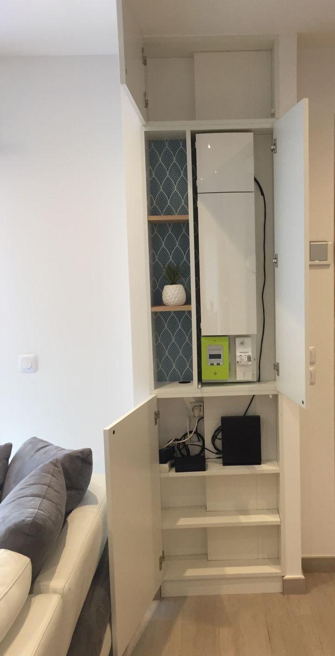 Armoire Pour Cacher Tableau Electrique aménagement placard tableau électrique | amenagement placard