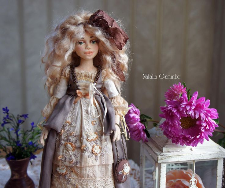 Buy Angelica - natalytools, collection doll, collection toys, interior doll…