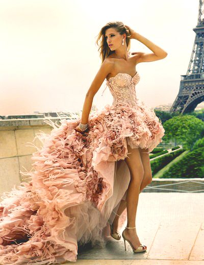 Can I please have this dress?Paris, Wedding Dressses, Zuhairmurad, Fashion, Zuhair Murad, Gowns, Pink, Dreams Dresses, The Dresses