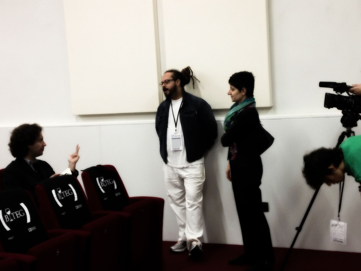 Mago Rabin e Marisa Margara - backstage