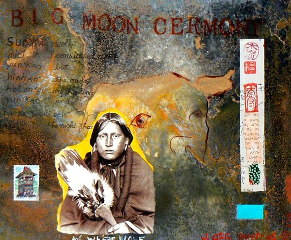 Big Moon Ceremony by Jane Ash Poitras