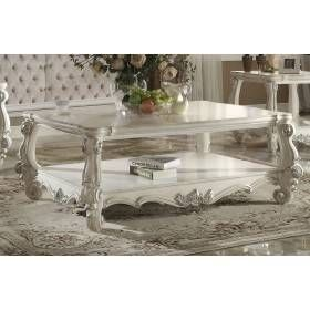 Acme 82123 Versailles Bone White Coffee Table