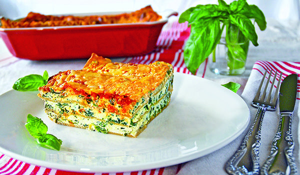 Dr. Travis Stork's Veggie Lasagna Recipe – Healthy Pasta Recipes | OK! Magazine