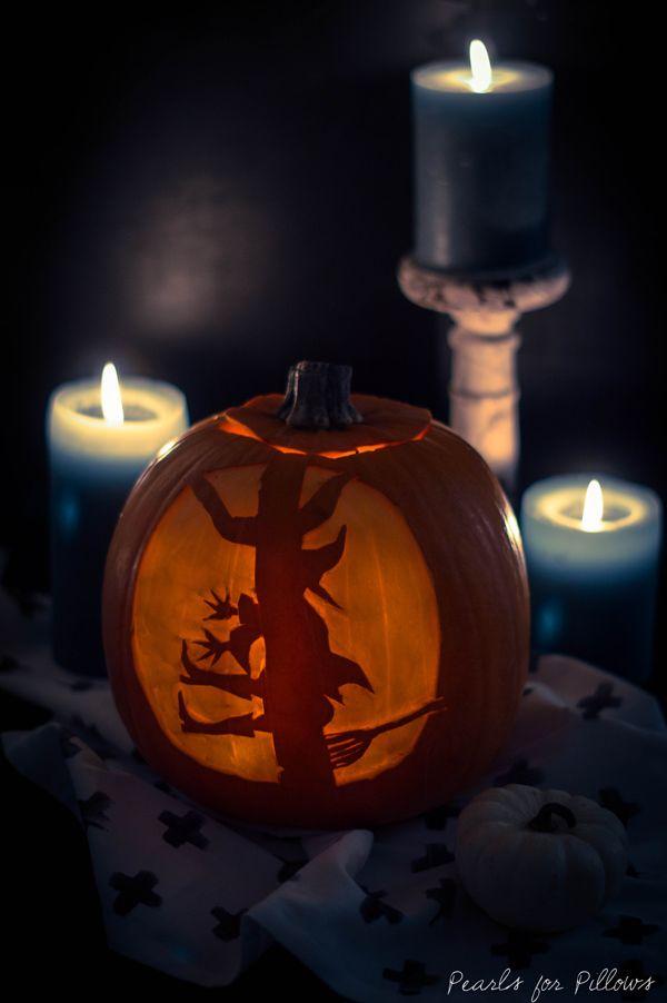 k rbisschnitzen 2 0 spooky schattenk rbis halloween. Black Bedroom Furniture Sets. Home Design Ideas
