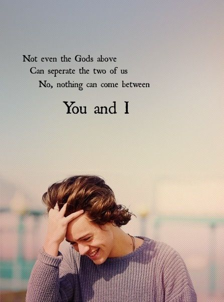 You and I -One Direction
