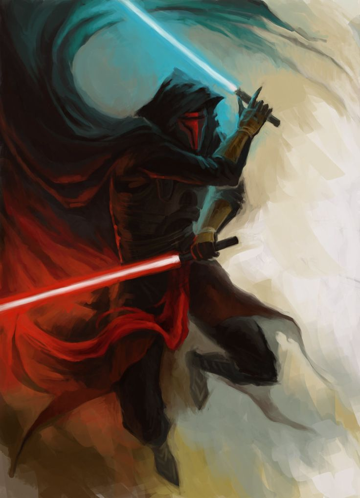 Darth Revan /by SoranoDa #deviantART #StarWars #art