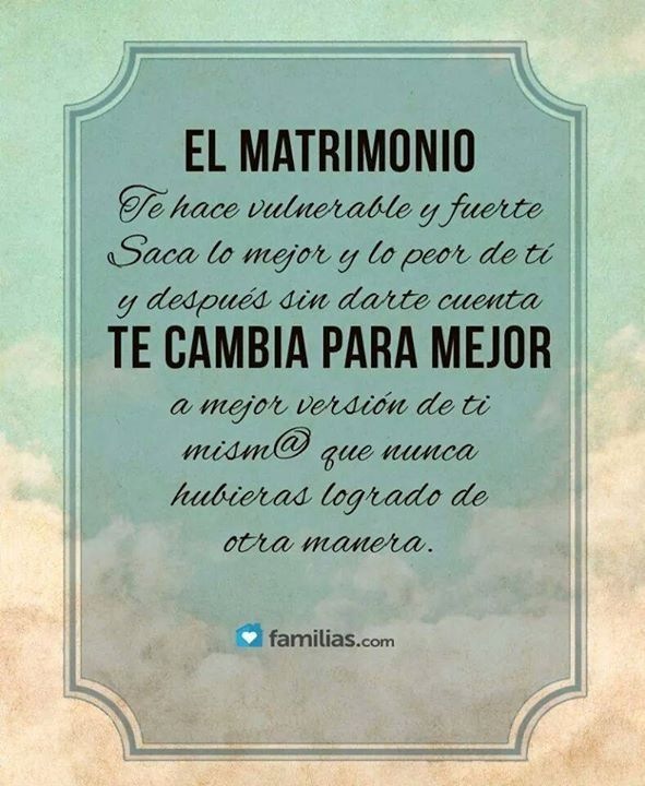 Frases #matrimonio