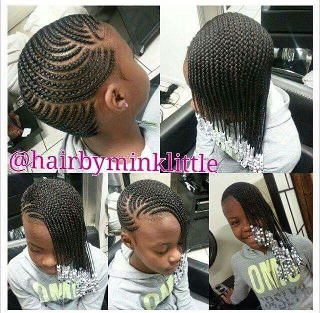 Braids N Beads Beautiful Little Black Girl Pinterest Hair