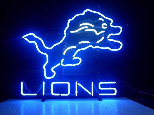Detroit Lions Pub Light https://sportsmaniausa.com/