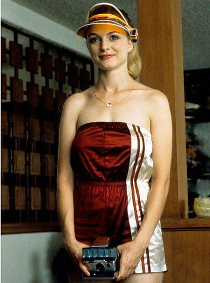 Heather Graham as Roller GIrl #VintageVisorFriday