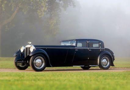 Daimler Double Six 40/50 Martin Walter Sports Saloon - 1932