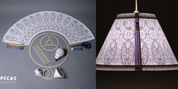 Pecas Tiffany - DIY Tiffany Lampshade