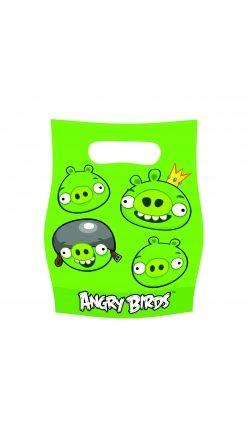 Angry Birds™ - Lot de  6 Sachets de Fête - Bad Piggies™