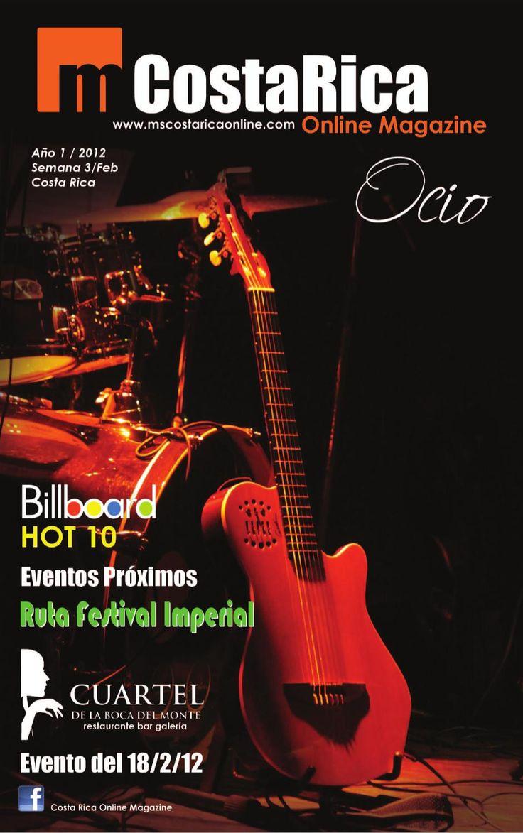 Costa Rica Online Magazine (Revista Digital N°1)
