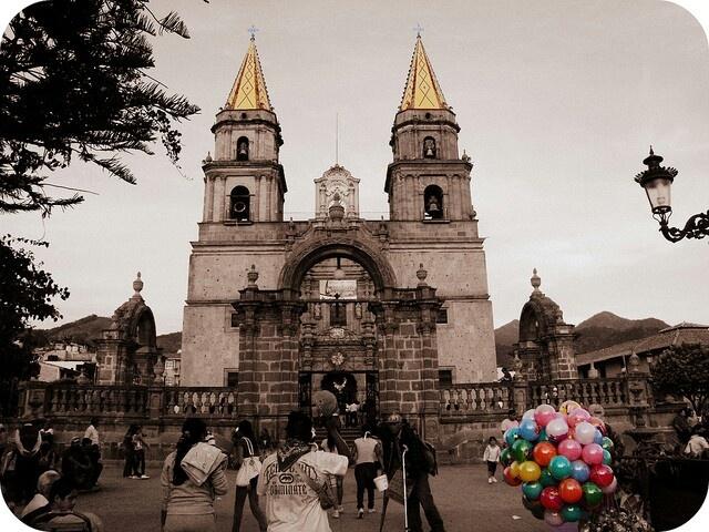 Iglesia de la Virgen de Talpa de Allende. Jalisco