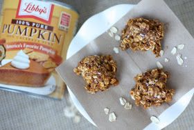 Project Domestication: Spiced Pumpkin & Oatmeal No-Bake Cookies