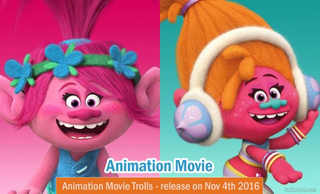 Trolls - 3D Animation Movie Trailer Photos and wallpapers http://webneel.com/trolls-3d-animation-movie | Design Inspiration http://webneel.com | Follow us www.pinterest.com/webneel