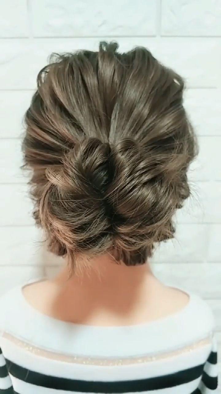 Hairstyle Tutorial 885 -   - #hairscolorideas #hairstyle #hairstylesformediumlengthhair #hairstylestutorials #tutorial