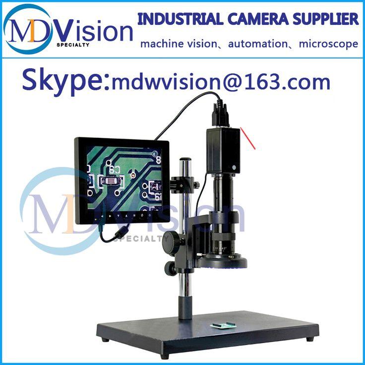 Industrial Electronic Video Digital Microscope Mobile Phone Circuit Board Repair Clock Service Detector Machine Parts Detection