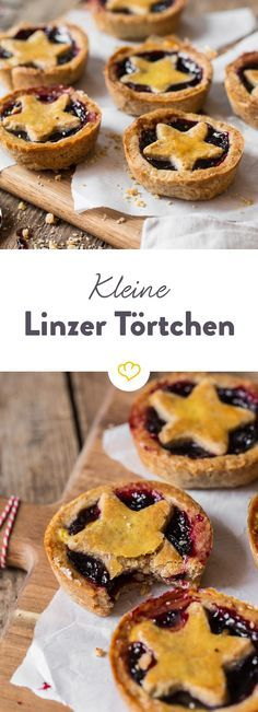 Always just right: Small Linzer Törtchen  – Kuchen