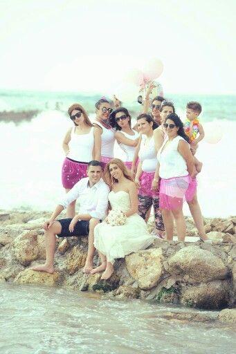 Bachelor beach friends