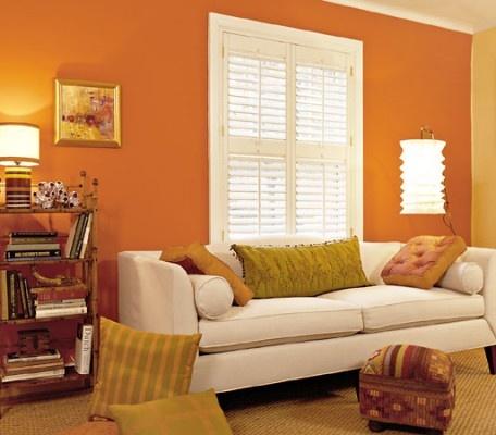 64 Best Orange Living Room Images On Pinterest Orange Living Rooms Orange Rooms And Orange