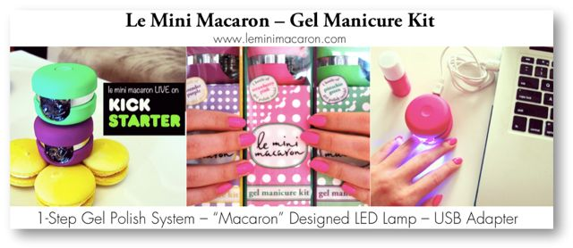 17 best le mini macaron gel manicure kits images on pinterest le mini macaron an innovative gel manicure kit which lets girls diy gel nails solutioingenieria Gallery
